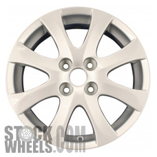 Picture of Mazda 2 (2011-2014) 15x6 Aluminum Alloy Chrome 8 Spoke [64939]