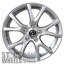 Picture of Mazda MX-5 MIATA (2013-2015) 17x7 Aluminum Alloy Chrome 5 Y Spoke [64951]