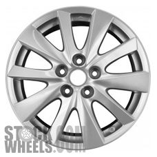 Picture of Mazda CX-5 (2013-2016) 17x7 Aluminum Alloy Chrome 10 Spoke [64954]