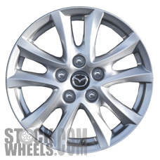 Picture of Mazda 3 (2014-2016) 16x6.5 Aluminum Alloy Chrome 5 Double Spoke [64961]