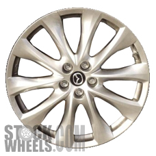 Picture of Mazda CX-9 (2014-2015) 20x7.5 Aluminum Alloy Hyper Silver 10 Spoke [64963]