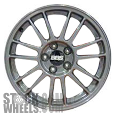 Picture of Mitsubishi LANCER (2005-2006) 17x8 Aluminum Alloy Hyper Silver 7 Double Spoke [65805]