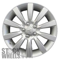Picture of Mitsubishi LANCER (2008) 18x7 Aluminum Alloy Chrome 10 Spoke [65845]