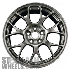 Picture of Mitsubishi LANCER (2008) 18x8.5 Aluminum Alloy Dark Hyper Silver 7 Y Spoke [65846]