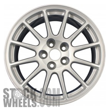 Picture of Mitsubishi LANCER (2008-2015) 18x8.5 Aluminum Alloy Silver 12 Spoke [65849]