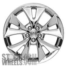 Picture of Pontiac VIBE (2005-2007) 17x7 Aluminum Alloy Chrome 5 Split Spoke [06623]