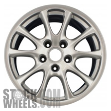 Picture of Porsche 911 (2004-2005) 18x11 Aluminum Alloy Chrome 10 Spoke [67284]