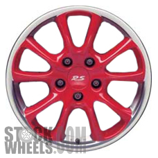 Picture of Porsche 911 (2004-2005) 18x11 Aluminum Alloy Red 5 Double Spoke [67338B]