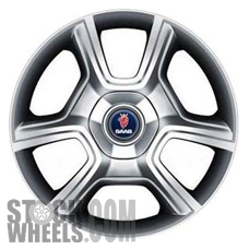 Picture of Saab 9-3 (2008-2012) 19x8 Aluminum Alloy Chrome 6 Spoke [68251]