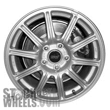 Picture of Subaru IMPREZA (2005-2007) 17x8 Aluminum Alloy Gold 10 Spoke [68804A]