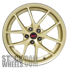 Picture of Subaru WRX (2015) 18x8.5 Aluminum Alloy Gold 5 Y Spoke [68830B]