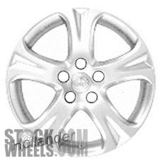 Picture of Toyota SOLARA (2007-2008) 17x7 Aluminum Alloy Chrome 5 Spoke [69498]