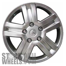 Picture of Toyota TUNDRA (2007-2013) 20x8 Aluminum Alloy Chrome 5 Spoke [69513]