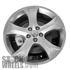 Picture of Toyota VENZA (2009-2016) 20x7.5 Aluminum Alloy Chrome 5 Spoke [69558]
