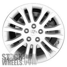 Picture of Toyota SIENNA (2011-2018) 17x7 Aluminum Alloy Chrome 7 Double Spoke [69581]