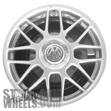 Picture of Volkswagen JETTA (2003-2011) 18x7.5 Aluminum Alloy Chrome 8 Y Spoke [69806]