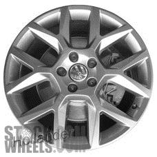 Picture of Volkswagen GOLF (2012-2014) 18x7.5 Aluminum Alloy Chrome 6 Y Spoke [69962]