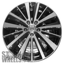 Picture of Volkswagen JETTA GLI (2012-2014) 18x7.5 Aluminum Alloy Chrome 5 Triple Spoke [69968]