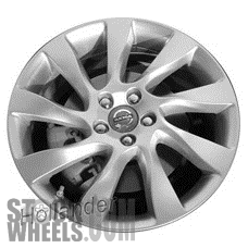 Picture of Volvo 80 SERIES (2012-2016) 18x8 Aluminum Alloy Chrome 9 Spoke [70378]