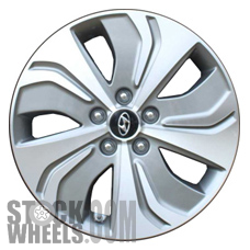 Picture of Hyundai SONATA (2013-2015) 17x6.5 Aluminum Alloy Chrome  (for use w/o TPMS Sensor) 5 Spoke [70864B]