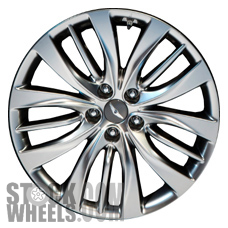 Picture of Hyundai GENESIS (2015-2016) 19x8.5 Aluminum Alloy Chrome 5 Triple Spoke [70872]
