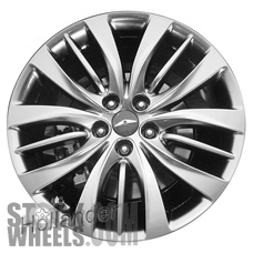 Picture of Hyundai GENESIS (2015-2016) 19x9 Aluminum Alloy Chrome 5 Triple Spoke [70873]