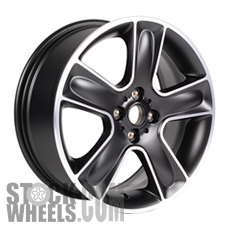 Picture of Mini COOPER (2007-2015) 17x7 Aluminum Alloy Chrome 5 Spoke [71351]