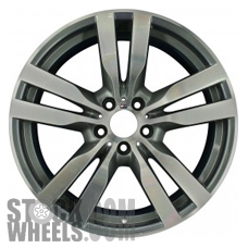 Picture of BMW X5M (2010-2015) 20x11 Aluminum Alloy Chrome 5 Double Spoke [71387]