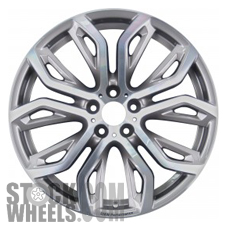 Picture of BMW X6 (2011-2014) 21x11.5 Aluminum Alloy Chrome 10 Spoke [71494]