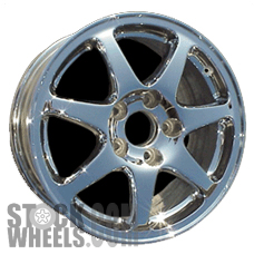 Picture of Acura NSX (1994-2001) 17x8.5 Aluminum Alloy Chrome 7 Spoke [71662]
