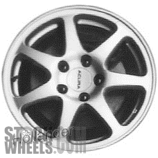 Picture of Acura NSX (1994-2001) 17x8.5 Aluminum Alloy Silver 7 Spoke [71662]