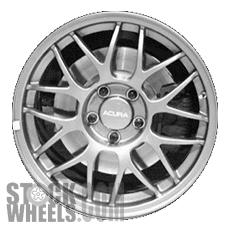 Picture of Acura NSX (1999) 17x8.5 Aluminum Alloy Chrome 8 Y Spoke [71705]