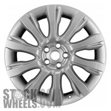 Picture of Land Rover RANGE ROVER (2013-2017) 21x9.5 Aluminum Alloy Silver 10 Spoke [72246B]