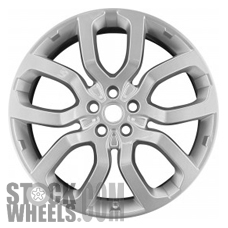 Picture of Land Rover RANGE ROVER (2013-2017) 22x9.5 Aluminum Alloy Chrome 5 Double Spoke [72247]