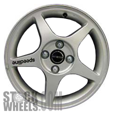 Picture of Suzuki ESTEEM (2000) 15x5.5 Aluminum Alloy Sparkle Silver 5 Spoke [72672]