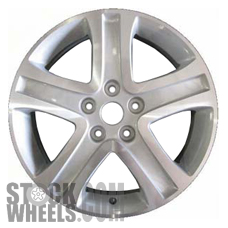 Picture of Suzuki VITARA (2006-2011) 17x6.5 Aluminum Alloy Machined with Silver 5 Spoke [72695]