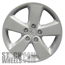 Picture of Suzuki VITARA (2009-2011) 17x6.5 Aluminum Alloy Silver 5 Spoke [72707]