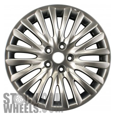 Picture of Suzuki KIZASHI (2010-2013) 18x8 Aluminum Alloy Hyper Silver 20 Spoke [72711]