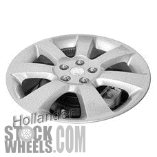 Picture of Suzuki VITARA (2010-2013) 18x7 Aluminum Alloy Silver 7 Spoke [72717A]