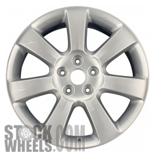 Picture of Suzuki VITARA (2012-2013) 18x7 Aluminum Alloy Hyper Silver 7 Spoke [72717B]