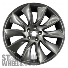 Picture of Infiniti FX SERIES (2012-2013) 21x9.5 Aluminum Alloy Charcoal 10 Split Spoke [73749]