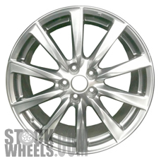 Picture of Lexus IS-F (2008-2014) 19x8 Aluminum Alloy Polished 10 Spoke [74206A]