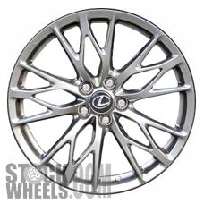 Picture of Lexus IS-F (2010-2014) 19x8 Aluminum Alloy Chrome 5 Triple Spoke [74246]