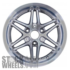 Picture of Smart FORTWO (2009-2014) 17x8 Aluminum Alloy Chrome 6 Double Spoke [85186]