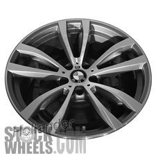 Picture of BMW X5 (2014-2018) 20x11 Aluminum Alloy Chrome 5 V Spoke [86058]