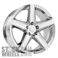 Picture of Jeep GRAND CHEROKEE (2008-2010) 20x9 Aluminum Alloy Polished 5 Spoke [09082]