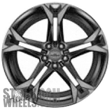 Picture of Chevrolet CAMARO (2017-2018) 20x11 Aluminum Alloy Satin Charcoal 5 Double Spoke [05776]