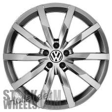 Picture of Volkswagen BEETLE (2017-2018) 20x8 Aluminum Alloy Hyper Silver 10 Spoke [70021]