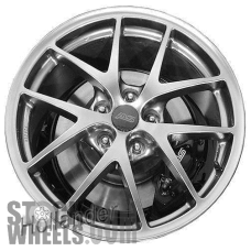 Picture of Subaru WRX (2015-2017) 18x8.5 Aluminum Alloy Chrome 5 Y Spoke [68830]