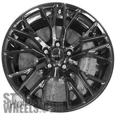 Picture of Chevrolet CORVETTE (2016-2018) 19x10 Aluminum Alloy Gloss Black 5 Double Y Spoke [05734]